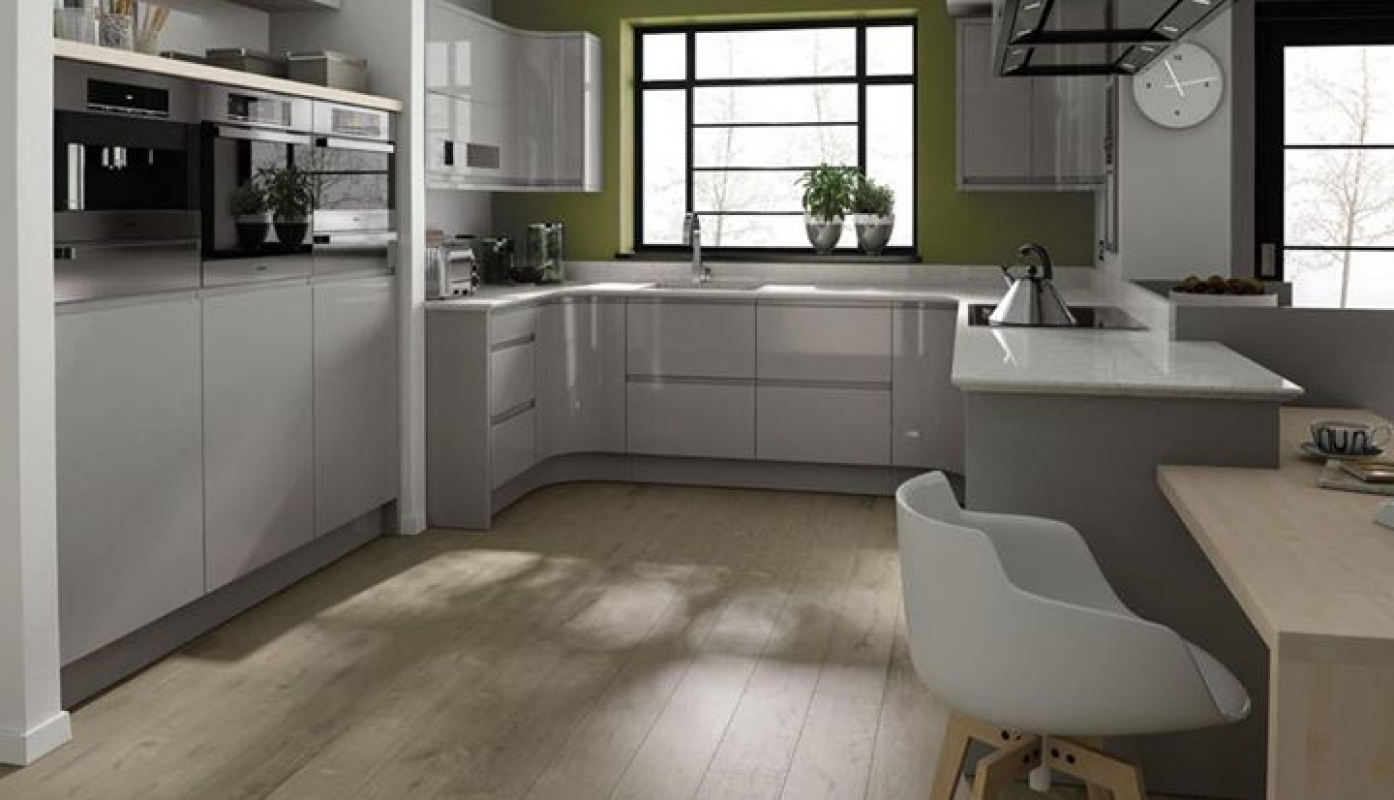 A TRULY MODERN KITCHEN This U Shaped Kitchen Design Makes Great Use Of  Internal .