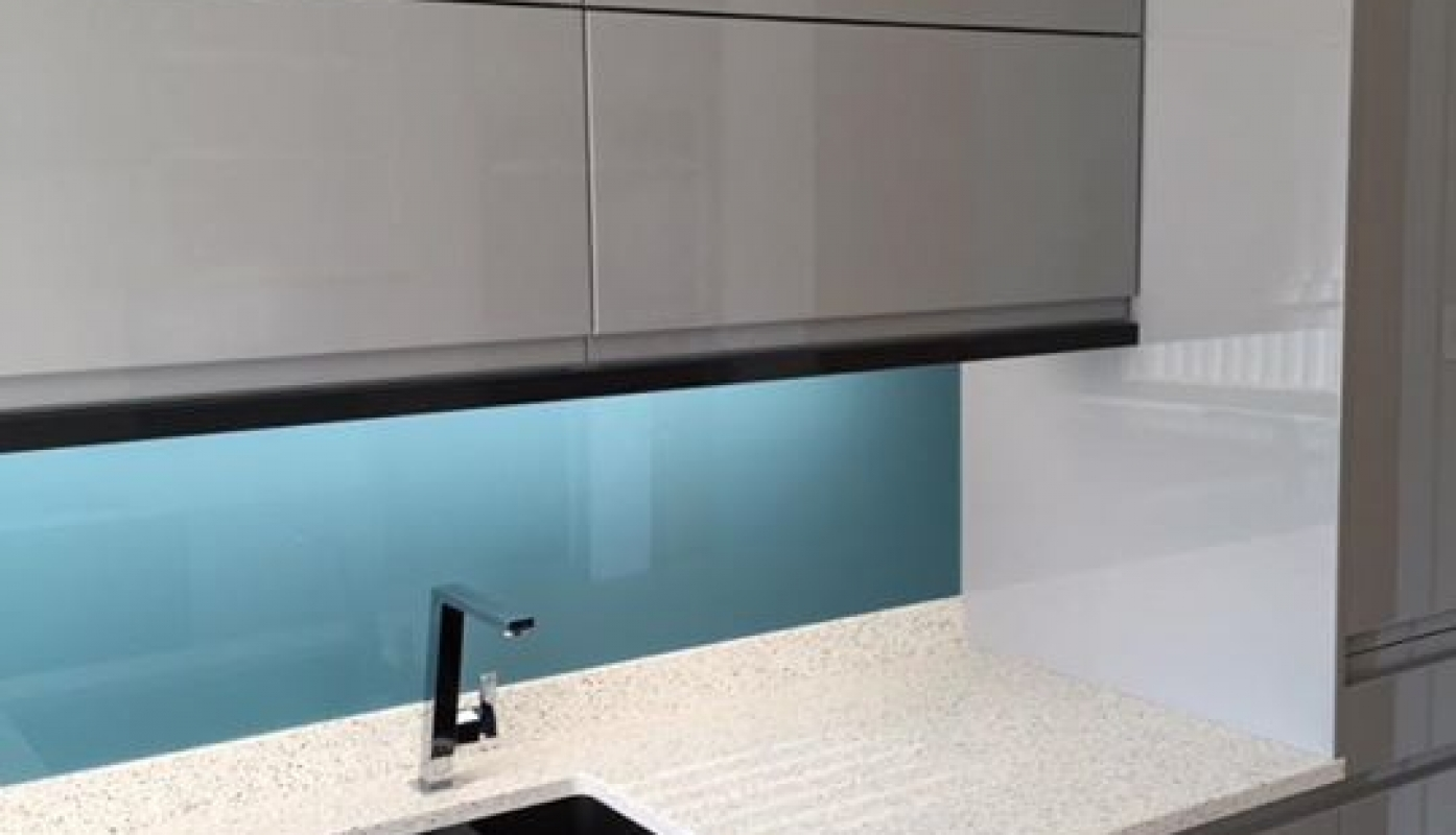 One of our installations in Remo Hi Gloss Grey with Mistral Acrylic ...
